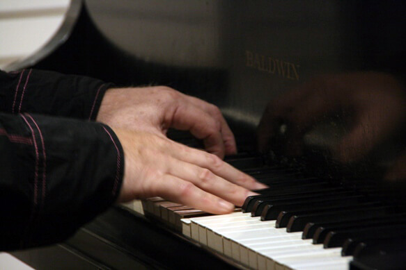 Jazz piano hands -Bill Buchman